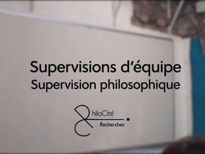 Supervision d'équipe - Philocité-Recherches