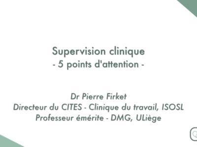 Supervision clinique