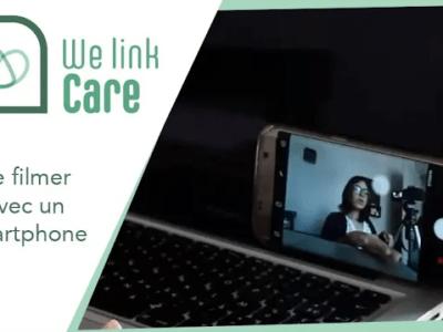 Se filmer soi-même avec un smartphone