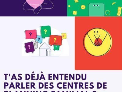 T'as déjà entendu parler des Centres de Planning Familial ?